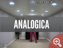 Cámara analógica interior